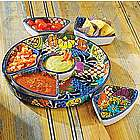 Talavera Salsera Serving Set