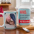 Large Who Loves You Personalized Mug