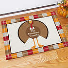Welcome Turkey Personalized Doormat