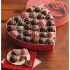 Deluxe Valentine's Heart Chocolate Truffles Gift Box