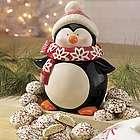 Penguin Jar with Cookies