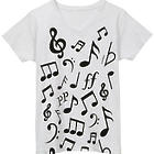Ladies' Musical Note Tee