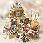 Gold & Silver Christmas Treats Gift Tower