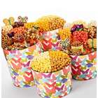 Deluxe Snack Popcorn and Treats in Butterfly Tin