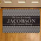 Personalized Life's Greatest Blessing Doormat