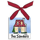 Personalized Home for the Holidays Ornament