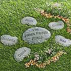Personalized Our Family Rocks! Name Stepping Stone