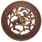 """Woodridge Outdoor/Indoor 16"""" Wall Clock"""