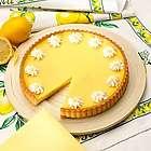 Lemon Flower Tart