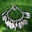 """Festive Thailand"" Silver Charm Bracelet"