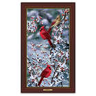 Bradley Jackson Cardinals In Snow Wall Art