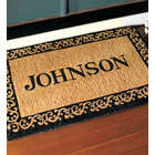 Large Personalized Door Mat