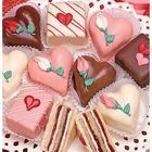 Decadent Valentine Petits Fours