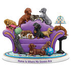 Home Is Where My Doxies Are Dachshund Figurine