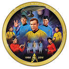 Star Trek 50th Anniversary Porcelain Collector Plate