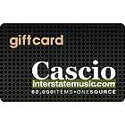 $10 Gift Card for Cascio Interstate Music