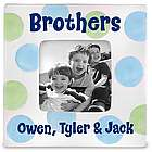 Personalized Brothers' Picture Frame
