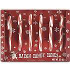 Bacon Flavored Candy Canes