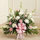 Heartfelt Tribute Funeral Flowers Floor Basket