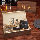 Quinton All The Vices Custom Whiskey Gift Set