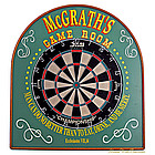 Game Room Dart Board Set