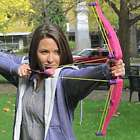Air Huntress Z Curve Pink Bow