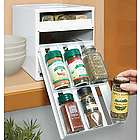 18 Bottle Spice Organizer with Labels