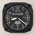 Altimeter Airplane Clock
