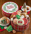 Merry Christmas Treats Cookie Gift Tin