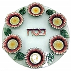 Sunflower Seder Plate