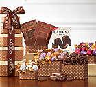Godiva Milk and Dark Chocolate Gift Tower