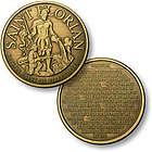 St Florian Fireman's Prayer Pocket Coin