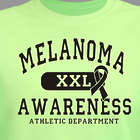 Melanoma Awareness Athletic Dept. T-Shirt