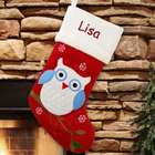Personalized Owl Stocking
