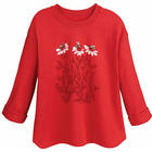 Honeybees Lightweight Fleece Top