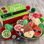 You've Been Elfed Treat Box with Gift Card