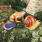 3 Weather-Resistant Resin Fairy Friend Garden Sculptures