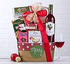 Edenbrook White Zinfandel Holiday Gift Basket