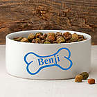 Personalized Classic Large Dog Bowl