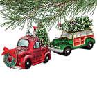 Vintage Automobile Christmas Ornament