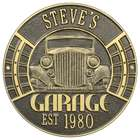 Personalized Vintage Car Address Plaque