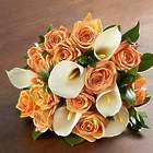 Autumn Rose & Calla Lily Bouquet