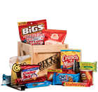 Snack Pack in Sealed Wooden Gift Crate