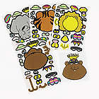 Make-Your-Own Zoo Animal Stickers