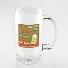 Pesronalized Man Cave Frosted Sports Mug