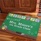 Personalized Little Learners Teacher's Classroom Doormat