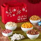 Let It Snow Snack Tote Bag