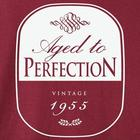 Aged To Perfection Personalized Year T-Shirt