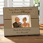 Father of the Bride Personalized Wedding Picture Frame