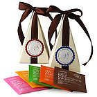 Tea Time Pyramid Favor Box